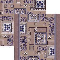 Ковровая дорожка синяя 0,8м 1м 1,2м 2м 2,5м 3м