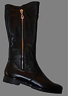 Женские кожаные сапоги зимние, сапоги от производителя модель ВБ30
