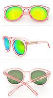 Очки солнцезащитные женские винтажные стильные модные Vintage Style
