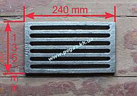 Колосник чугунное литье (135х240 мм)