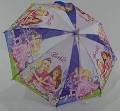 Детский зонт Барби (пластиковые спицы) dl