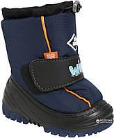 Теплі чобітки на зиму для хлопчика Demar Ice Snow 24-25 (16,5 см), фото 1