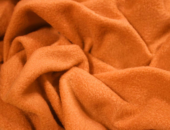 Ткань флис оранжевый, фото 2