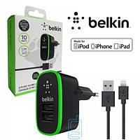 СЗУ+АЗУ Belkin 3in1 3.1A F8J031tt04-BLK iPhone 5 black