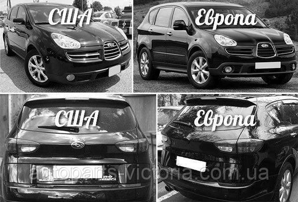 Различие дизайна фар американских и европейских машин