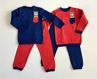 Пижама байковая для мальчика р.92
