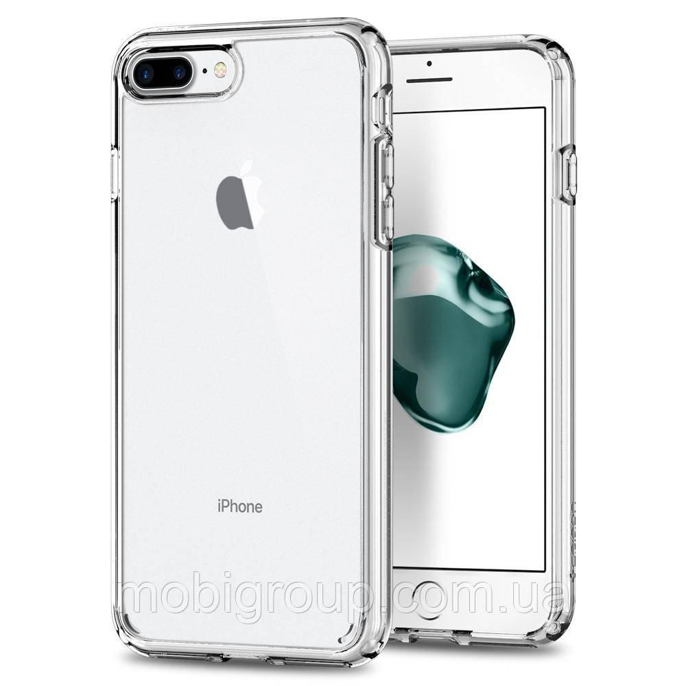 Чехол Spigen для iPhone 7 Plus Ultra Hybrid 2, Crystal Clear