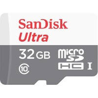 Карта памяти sandisk microsdhc 32gb ultra c10 80mb/s no adapter