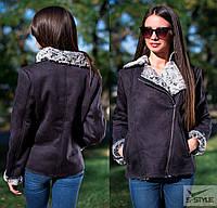Женская куртка дубленка на натуральной овчине