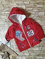 Батнік-куртка на махрі, 80-98 см ріст Туреччина