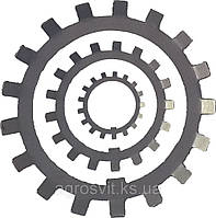 Шайба многолапчатая (ГОСТ 8530-90) диаметр 35