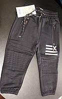 Спортивные штаны на мальчика черные 110 см