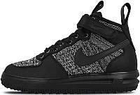 Мужские кроссовки Nike Lunar Force 1 Flyknit Workboot Black