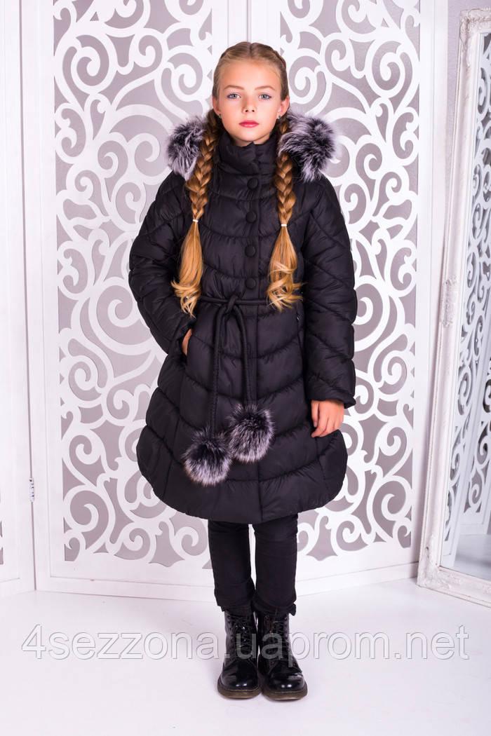Зимнее детское пальто Шейла