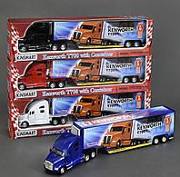 Машинка металлическая грузовик Kinsmart KT 1302 W