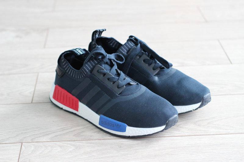 Женские тканевые кроссовки Adidas Marque Aux 3 Bandess (реплика)