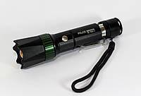 Фонарик BL 7030-2 Бел.+УФ (80)