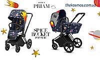 Универсальная коляска 2в1 Cybex Priam Space Rocket by Anna K 2018