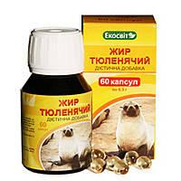 Тюлений жир 60кап.Экосвит Украина