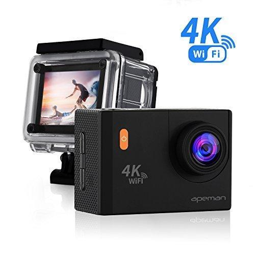Екшн-камера APEMAN A80 4K Action Camera WiFi 20MP (з нюансом)