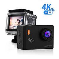 Екшн-камера APEMAN A80 4K Action Camera WiFi 20MP (з нюансом), фото 1