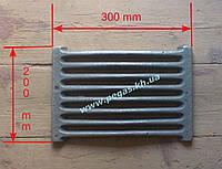 Колосник усиленный чугунное литье (200х300 мм)