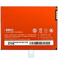Аккумулятор Xiaomi BM42 3100 mAh Redmi Note AAAA/Original тех.пак.
