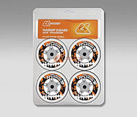 Набор колес для роликов - СК - Гонконг 80 mm
