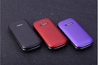 Раскладной телефон TKEXUN E1190A на 2 Sim с Большими буквами