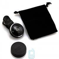 Линза для фото 235 градусов Super Fisheye черная