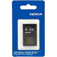 Аккумулятор Nokia BL-5CA 700 mAh 100, 101, 1110 АAA класс