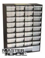 MasterTool  Органайзер 33 выдвижные секции 304*135*414мм, Арт.: 79-3121