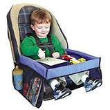Автомобильный столик для ребенка Play n Snack Tray - детский столик для автокресла, фото 2