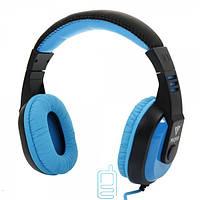 Наушники с микрофоном VYKON MQ98 черно-синие