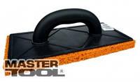 MasterTool  Терка пластиковая 130*270 латексное покрытие 20мм, Арт.: 08-1309
