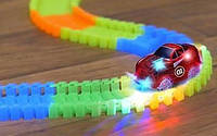 Magic Tracks светодиодная трасса,Гоночная трасса Magic Tracks,Трасса для машинок