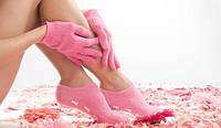 Гелевые увлажняющие носки SPA-носочки Gel Spa Socks разных цветов