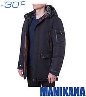 Зимняя куртка мужская 17185 чёрный
