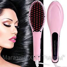 Расческа-выпрямитель Fast Hair Straightener HQT 906!Акция, фото 3