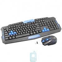 Комплект клавиатура+мышь беспроводная Gaming HK8100 black
