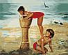 Картины по номерам 40*50 - Фонтанчик на пляже