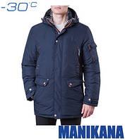 Мужская зимняя куртка 17185 темно-синий