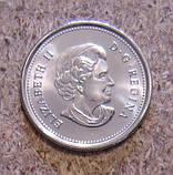 Канада, 25 центов 2010, 65 лет окончания II-й Мировой войны, UNC, фото 2