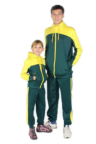 Спортивный костюм на заказ Семейный