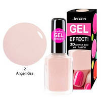 Лак для ногтей Jerden gel effect 9мл №2 angel kiss