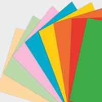 Цветная бумага набор 17x25 см 16 цветов