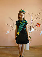 Костюм огурчика, огурчик, огурца для девочки прокат Киев