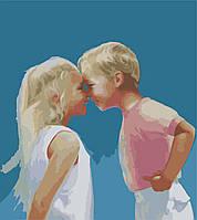 Картины по номерам 40*50 - Веселое детство