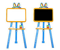 Доска для рисования магнитная 013777/1 желто-голубой