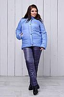 Лыжный женский костюм на синтепоне 48 50 52 54